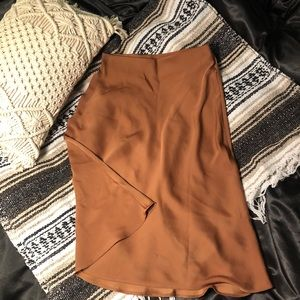 BANANA REPUBLIC Satin Skirt